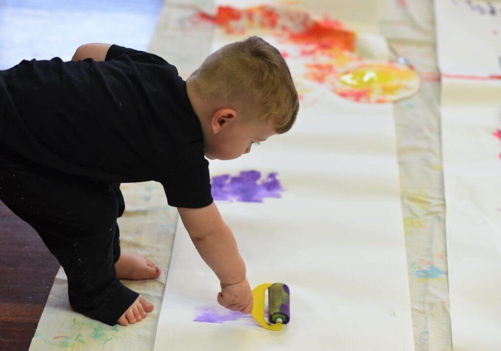 First Senses Messy Play Painting