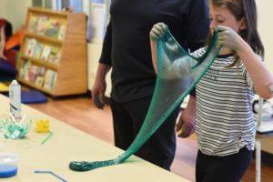 Slime Workshop bubble making